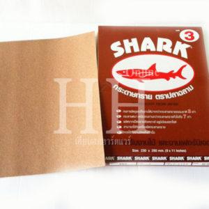 กระดาษทราย ยี่ห้อ ฉลาม